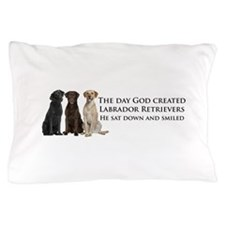 Creation of Labs Pillow Case
