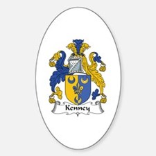 Kenney Oval Decal