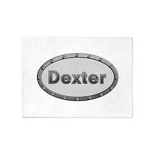 Dexter Metal Oval 5'x7'Area Rug