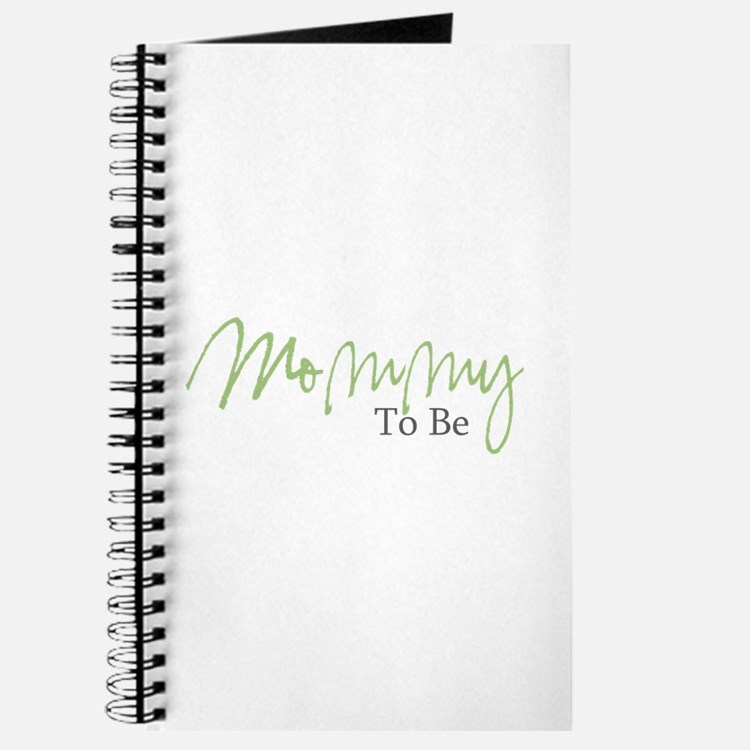 Mommy To Be (Green Script) Journal
