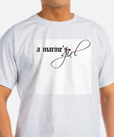 A Marine's Girl T-Shirt