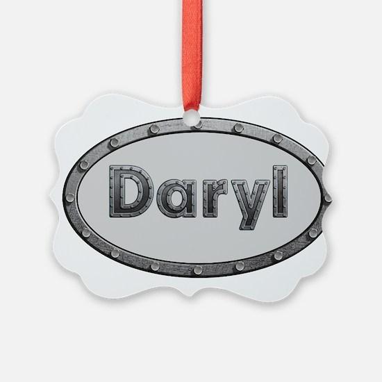 Daryl Metal Oval Ornament