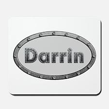 Darrin Metal Oval Mousepad