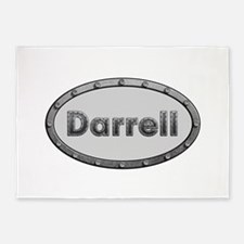 Darrell Metal Oval 5'x7'Area Rug