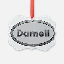 Darnell Metal Oval Ornament
