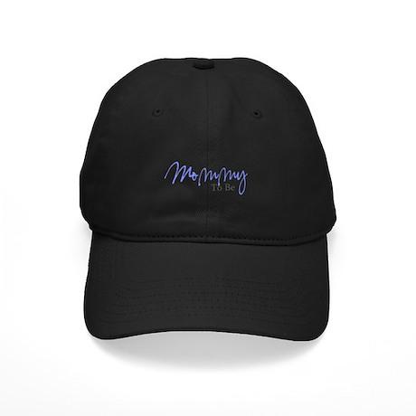 Mommy To Be (Blue Script) Black Cap