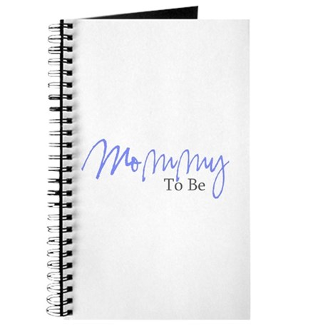 Mommy To Be (Blue Script) Journal