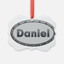 Daniel Metal Oval Ornament