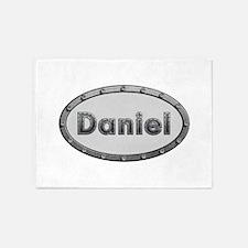 Daniel Metal Oval 5'x7'Area Rug