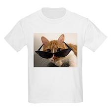 Cool Cat Wearing Sunglasses T-Shirt