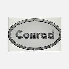 Conrad Metal Oval Magnets