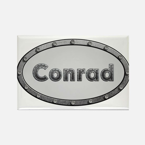 Conrad Metal Oval Magnets