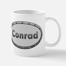 Conrad Metal Oval Mugs