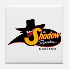 The Shadow Remembers Tile Coaster