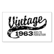 Vintage 1963 Decal