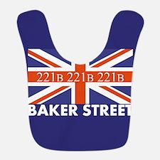 221B Union Jack Bib