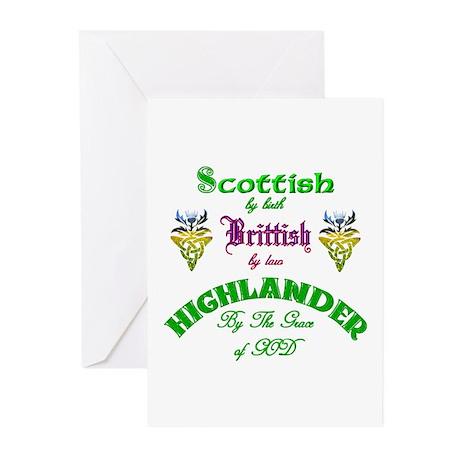 Scottish Highlander Greeting Cards (Pk of 10)