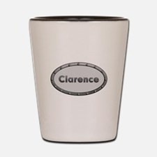 Clarence Metal Oval Shot Glass
