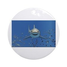 Great White Shark Ornament (Round)