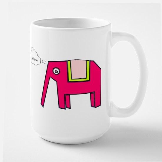 Pink elephant Mugs