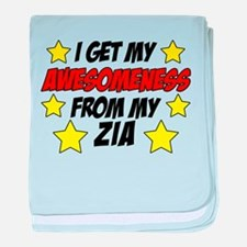 Awesomeness From Zia baby blanket