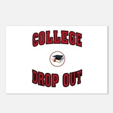 COLLEGE DROP OUT Postcards (Package of 8)