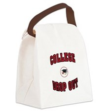 COLLEGE DROP OUT Canvas Lunch Bag