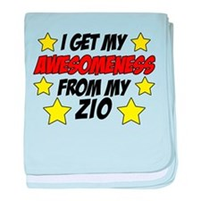 Awesomeness From Zio baby blanket