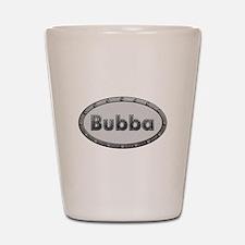 Bubba Metal Oval Shot Glass