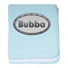 Bubba Metal Oval baby blanket