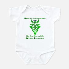 No One Harms Me Infant Bodysuit