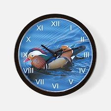 Mandarin Blue Boy Wall Clock