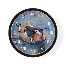 Mandarin Kaleidoscope Wall Clock