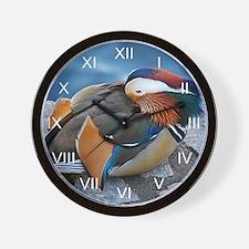 Mandarin Resting Wall Clock