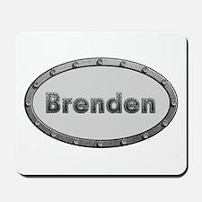 Brenden Metal Oval Mousepad