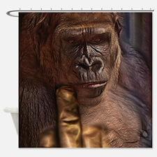 Evil Gorilla Shower Curtain