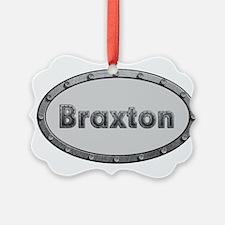 Braxton Metal Oval Ornament
