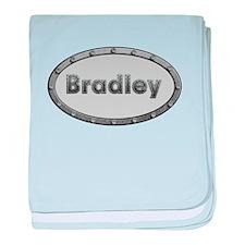Bradley Metal Oval baby blanket
