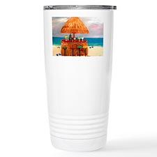 Tiki Beach Bar  Travel Mug