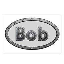 Bob Metal Oval Postcards (Package of 8)