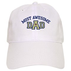Most Awesome Dad Baseball Cap