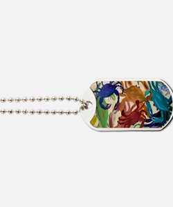 Crab Party Dog Tags