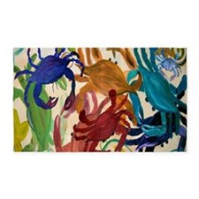 Crab Party 3'x5' Area Rug