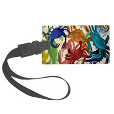 Crab Party Luggage Tag
