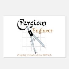 Persian Engineer Postcards (Package of 8)