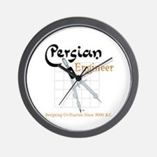 Persian Engineer Wall Clock