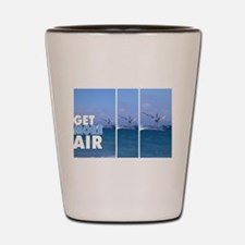 Windsurfer in the Air Shot Glass
