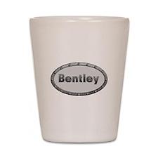 Bentley Metal Oval Shot Glass