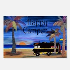 Happy RV Camper  Postcards (Package of 8)