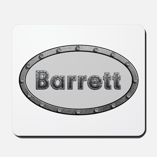 Barrett Metal Oval Mousepad